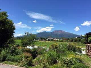 夏の浅間山