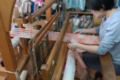手織り体験1