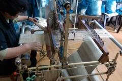 手織り体験2
