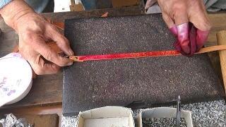 革細工の行程③