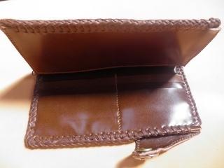 ダチョウの足の革を使った財布 30,000円