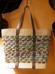革編み い草トート 5,500円