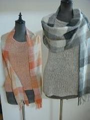 シルク手織りショール